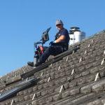 TV-Untersuchung auf dem Dach